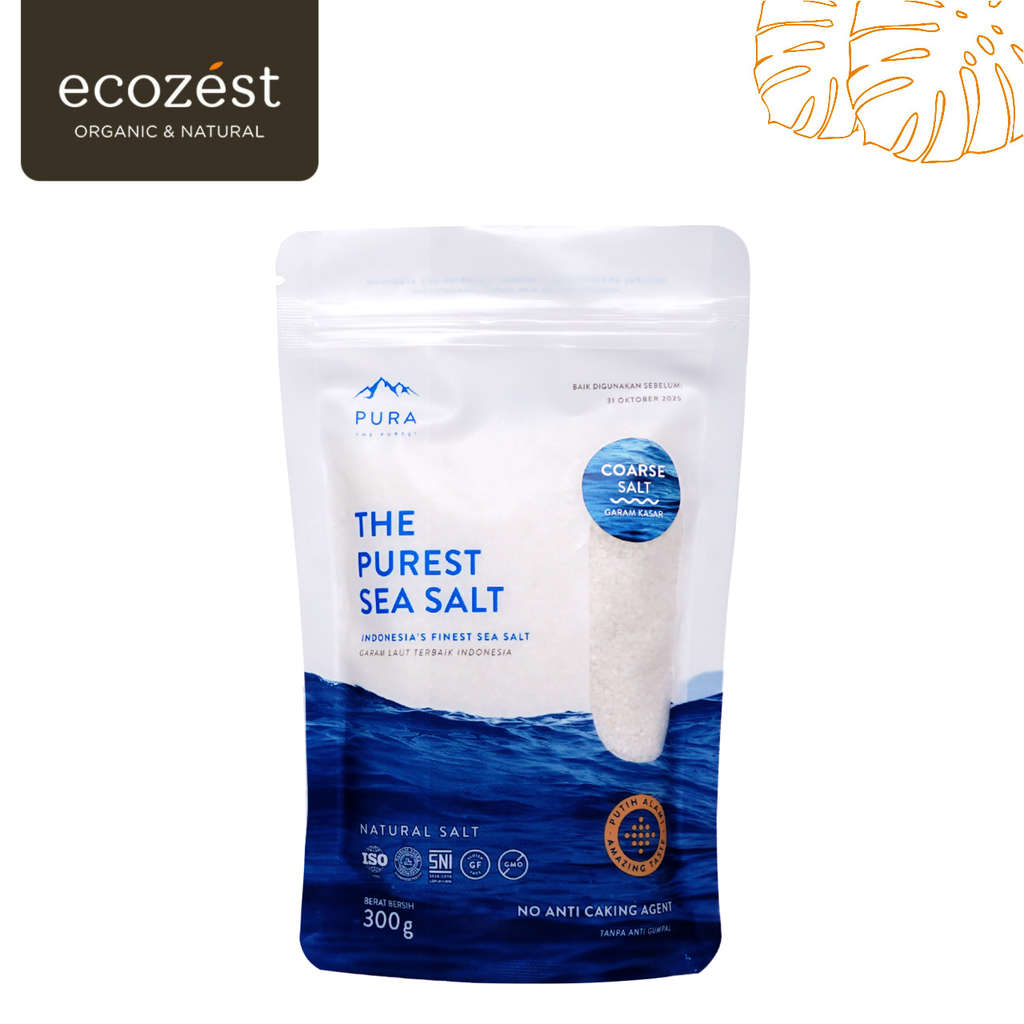 PURA - The Purest Sea Salt 300g (Coarse)