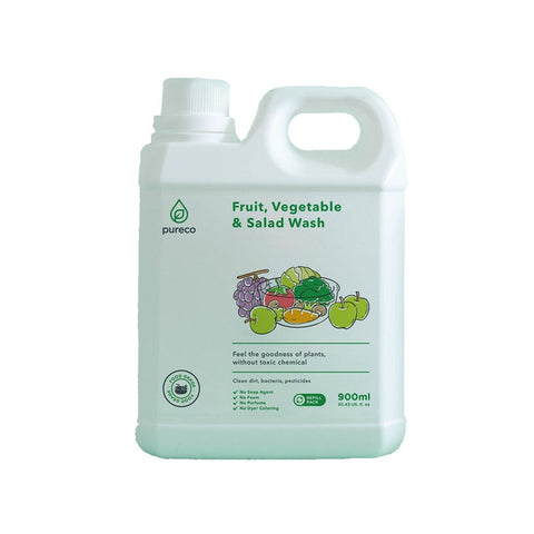 Pureco Fruit Vegetable Salad Wash Sabun Cuci Buah dan Sayur 900ml
