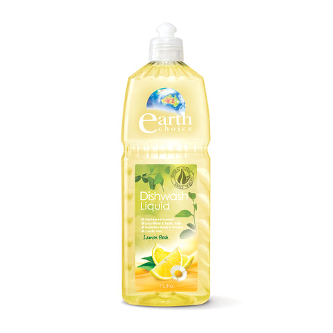 Earth Choice - Liquid Dishwash Lemon Fresh 1L