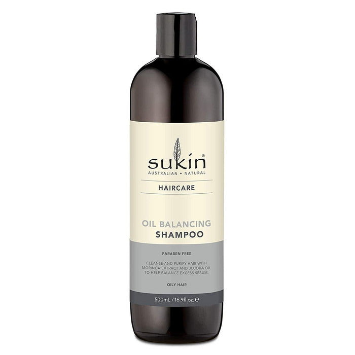 SUKIN Oil Balancing Shampoo 500ml (for oily hair) Original