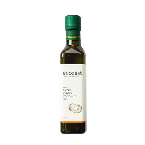 ECOZEST - Extra Virgin Coconut Oil 250 ml