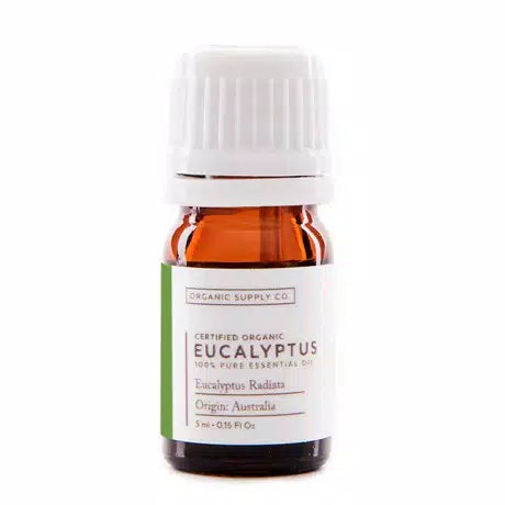 ORGANIC SUPPLY CO Eucalyptus Radiata Essential Oil Organic 5ml