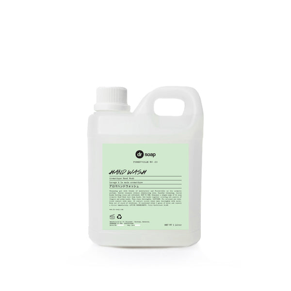 DR SOAP Hand Wash 1Liter (Iris Green)