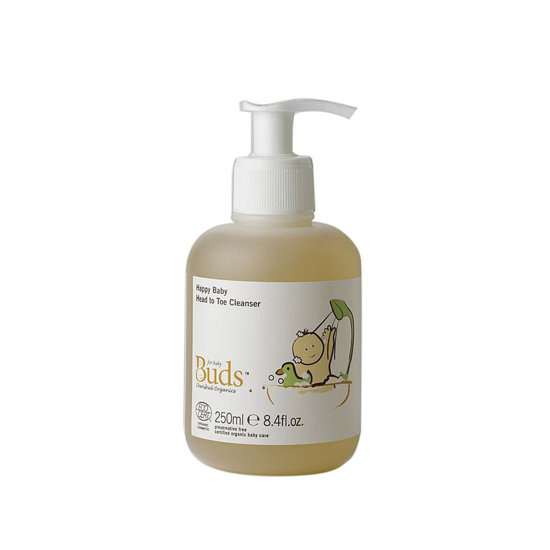 BUDS Happy Baby Head To Toe Cleanser 250ml