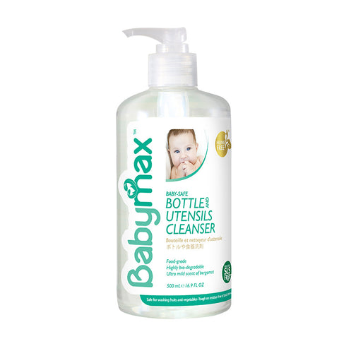 Babymax Baby Safe Bottle & Utensils Cleanser 500ml
