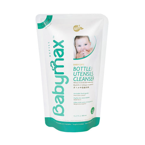 Babymax Baby Safe Bottle & Utensils Cleanser 450ml
