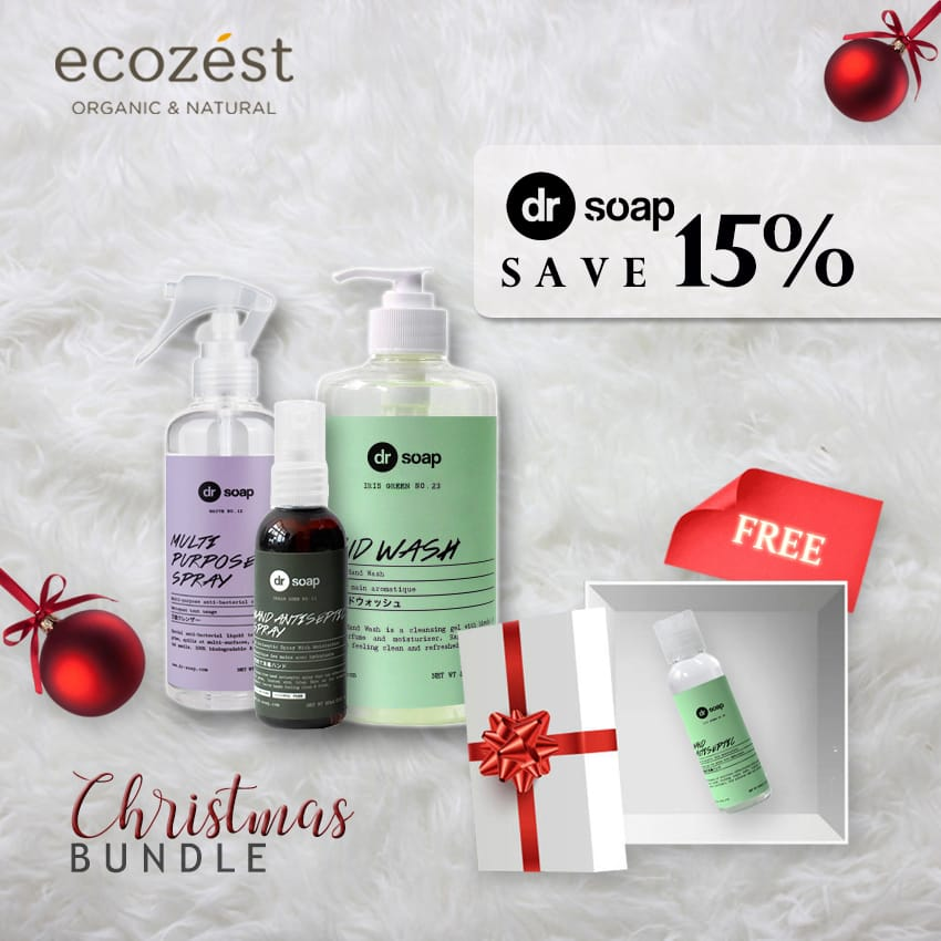 CHRISTMAS BUNDLE - DR SOAP FREE DR SOAP HAND ANTISEPTIC GEL