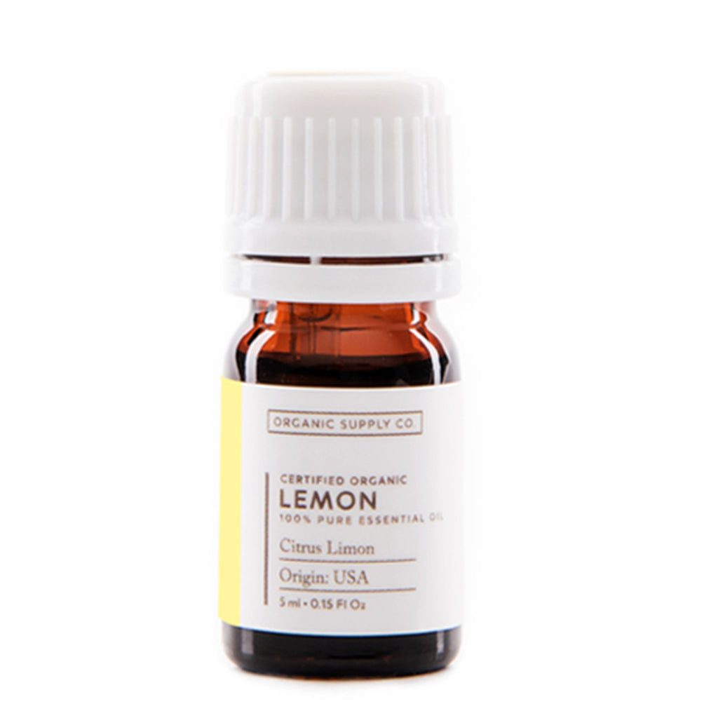 ORGANIC SUPPLY CO Lemon Essential Oil 5ml