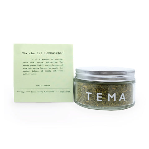 TEMA TEA - MATCHA IRI GENMAICHA (Green Tea)
