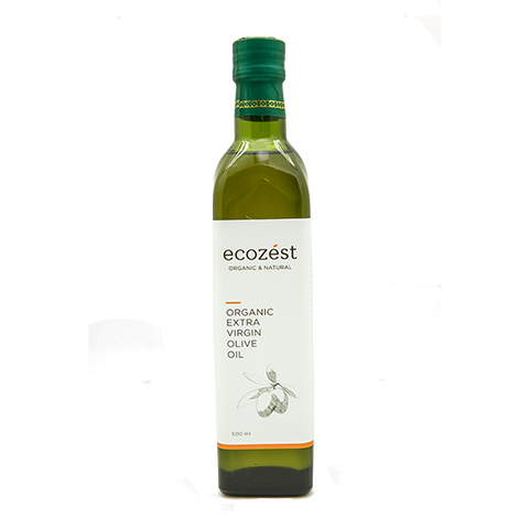 ECOZEST - Organic Extra Virgin Olive Oil 500 ml