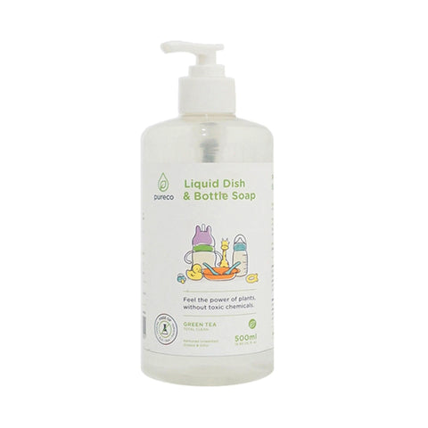 Pureco - Liquid Dish & Bottle Soap 500 ml