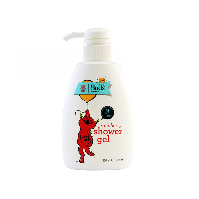 BUDS for Kid Shower Gel Rasberry 350ml