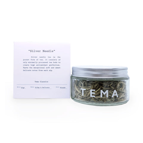 TEMA TEA - SILVER NEEDLE (White Tea)