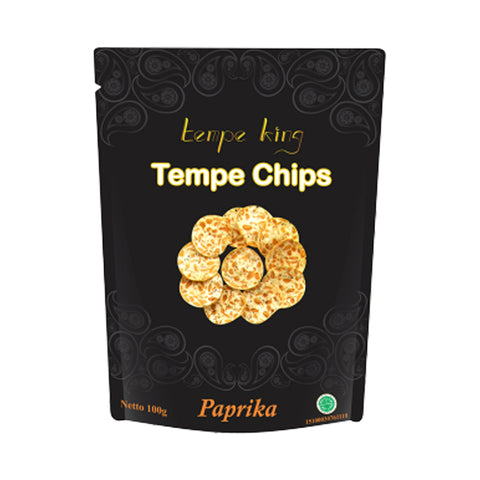 Tempe King – Tempe Chips Paprika 100 g