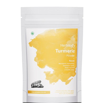 Herbilogy - Turmeric (Kunyit) Extract Powder