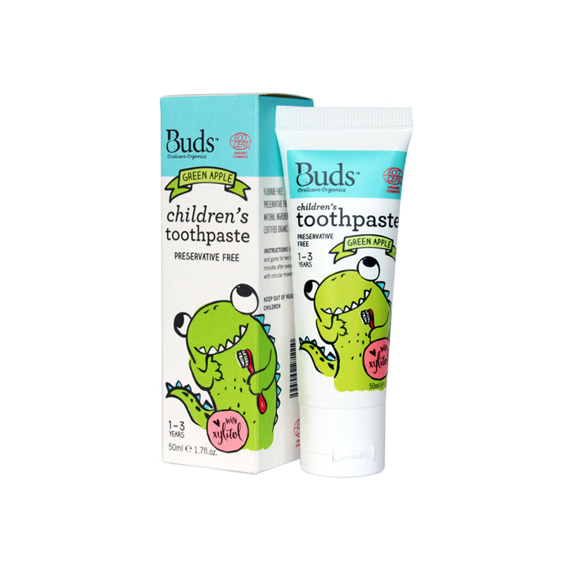 BUDS Toothpaste with Xylitol Greenapple