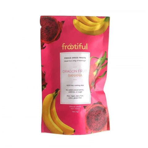 FROOTIFUL - Red Dragon Fruits Banana 20g