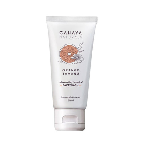 Cahaya Naturals Orange Tamanu Rejuvenating Face Wash 60 ml