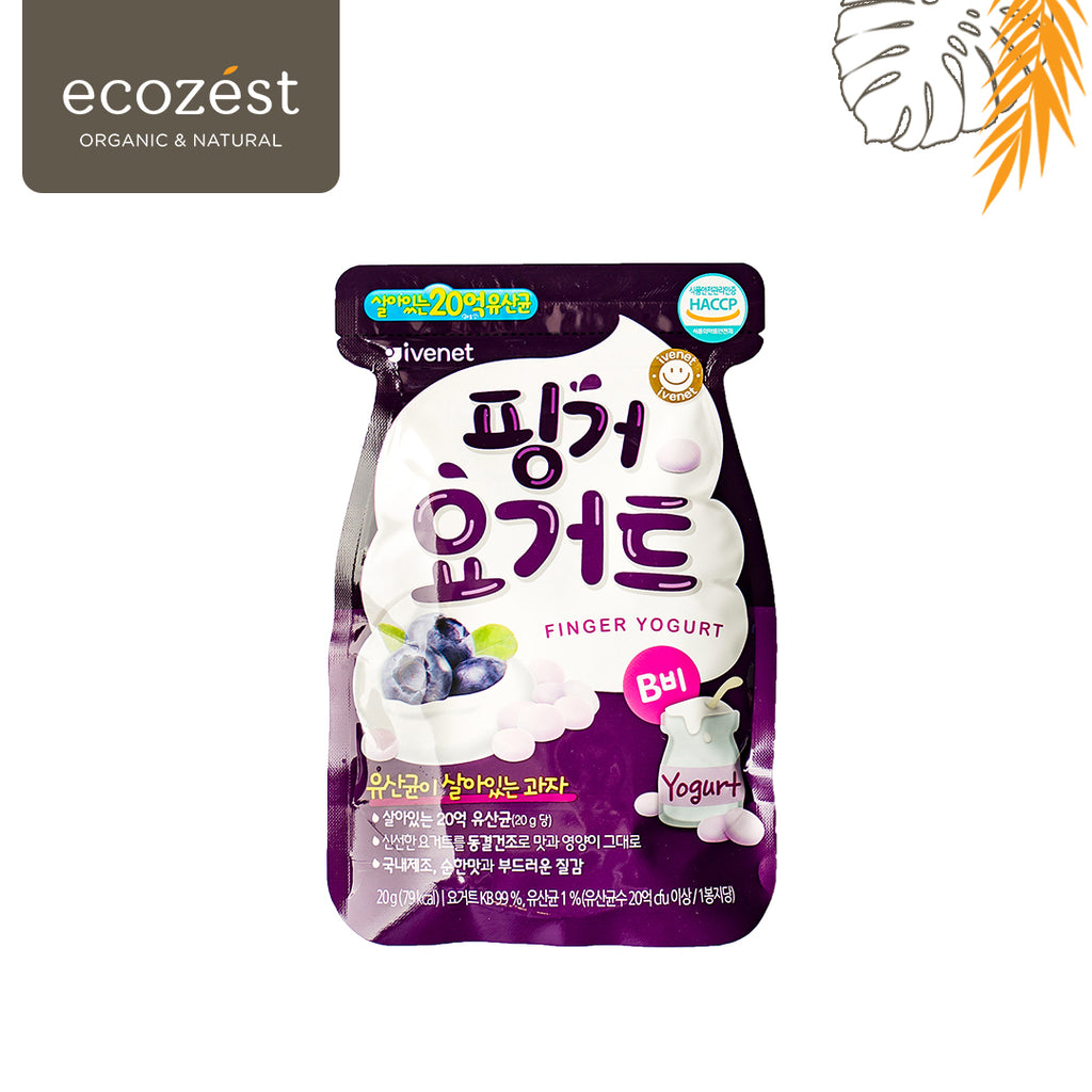 IVENET Finger Yogurt Blueberry