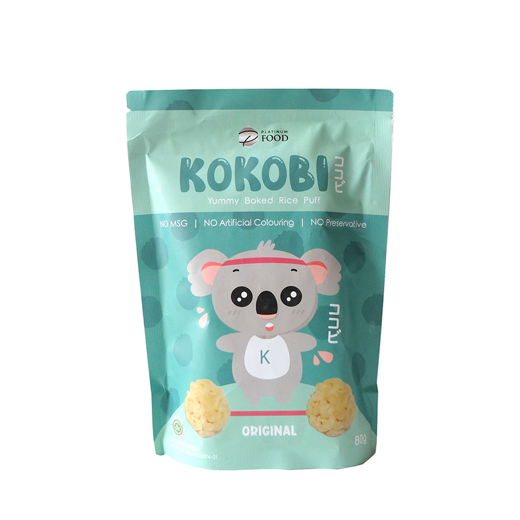 KOKOBI  Yummy Baked Rice Puff Original 80g