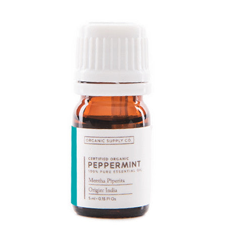 ORGANIC SUPPLY CO Peppermint Oil 5ml