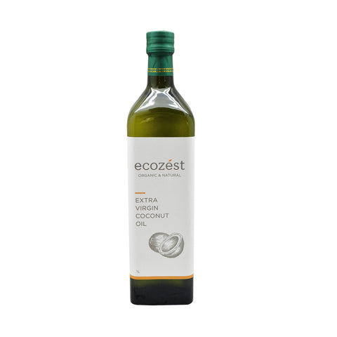 ECOZEST Extra Virgin Coconut Oil 1Liter