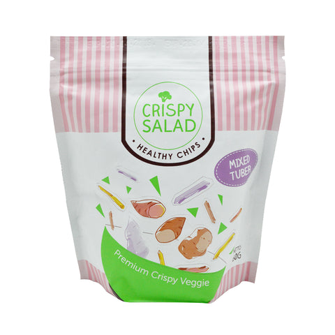 Crispy Salad – Mixed Tuber 60g