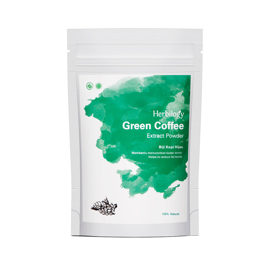 HERBILOGY  Green Coffee Extract Powder