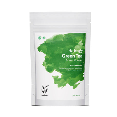 HERBILOGY Green Tea (Daun Teh Hijau) Extract Powder