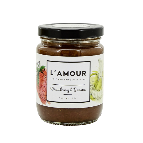 L'AMOUR Strawberry Banana 300g