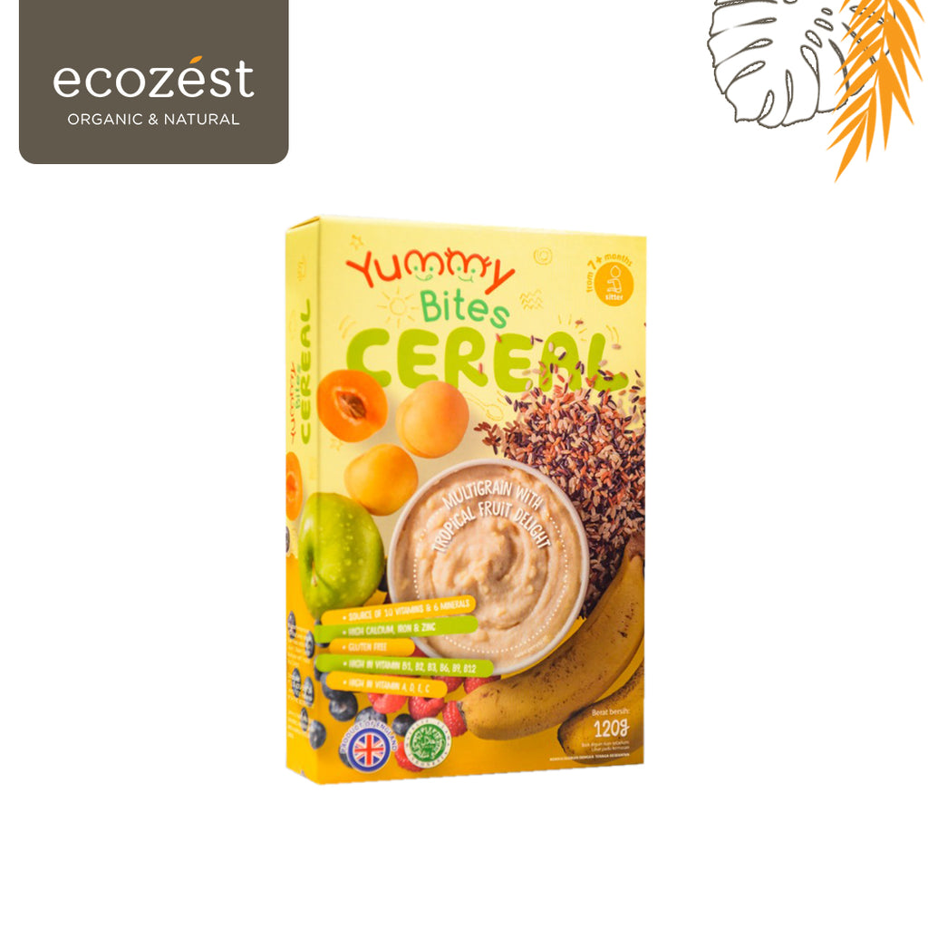 YUMMY BITES Cereal Multigrain With Tropical Fruit Delight 120g