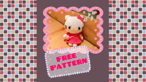 Hello kitty amigurumi crochet - YouTube | 270x479