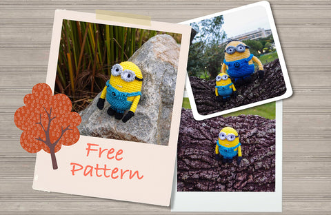 Despicable Me Minion Crochet Pattern Free Snacksies Handicraft Enchanting Free Minion Crochet Pattern