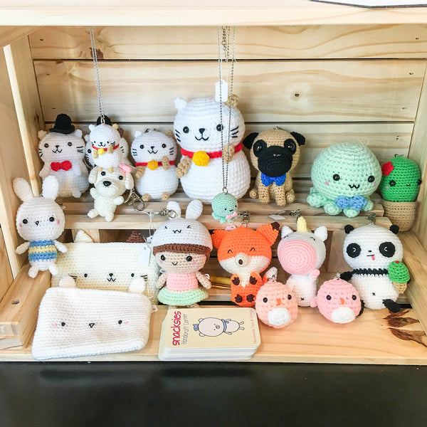 Amigurumi at Pop Up store