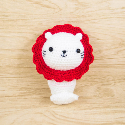 Merlion Amigurumi Pattern