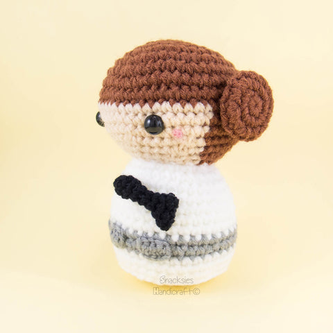 Ravelry: Cinder princess Amigurumi pattern by Thuy Anh | 480x480