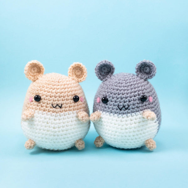 Crochet Hamster Plush for gift
