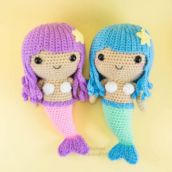 Mermaid Amigurumi Pattern for DIY