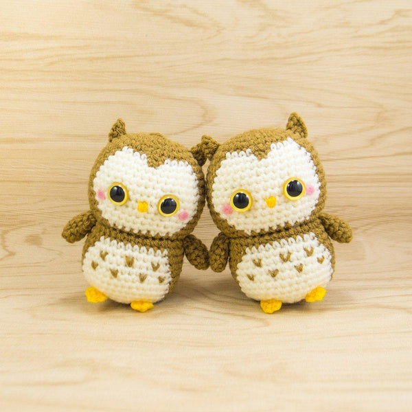 Amigurumi Owls for Owl Lover Gift