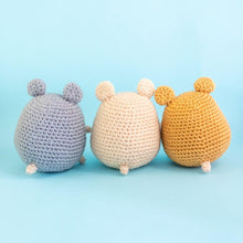 Load image into Gallery viewer, DIY Hamster Amigurumi Pattern