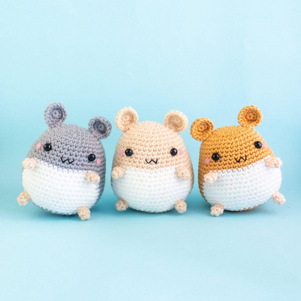 Hamster Crochet Toy Pattern