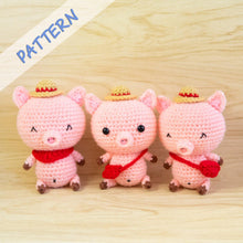 Load image into Gallery viewer, Pig Amigurumi Pattern