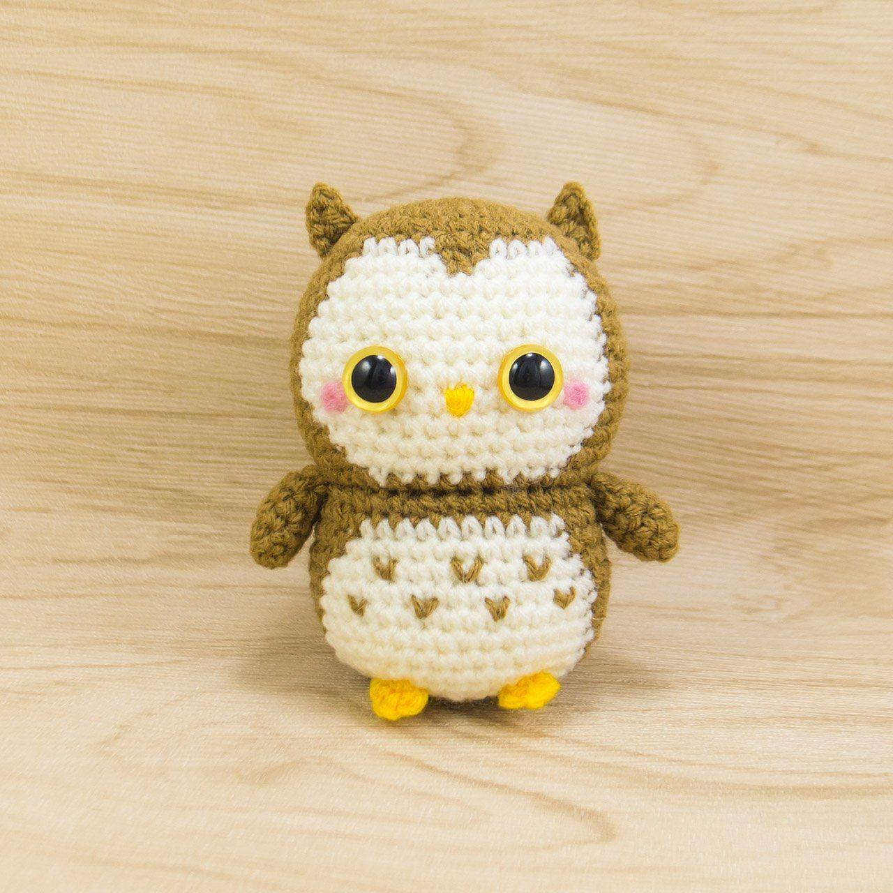 Soren the Barn Owl Free Crochet Pattern ⋆ Crochet Kingdom | 1280x1280