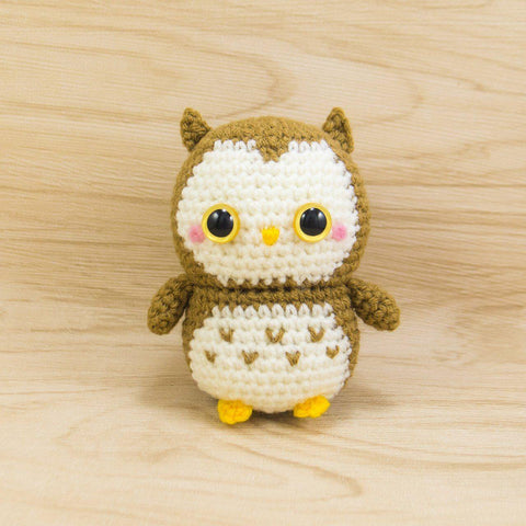 Ollie the Owl Amigurumi