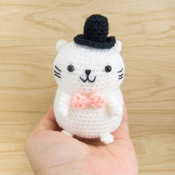 Amigurumi Cat for Home decor