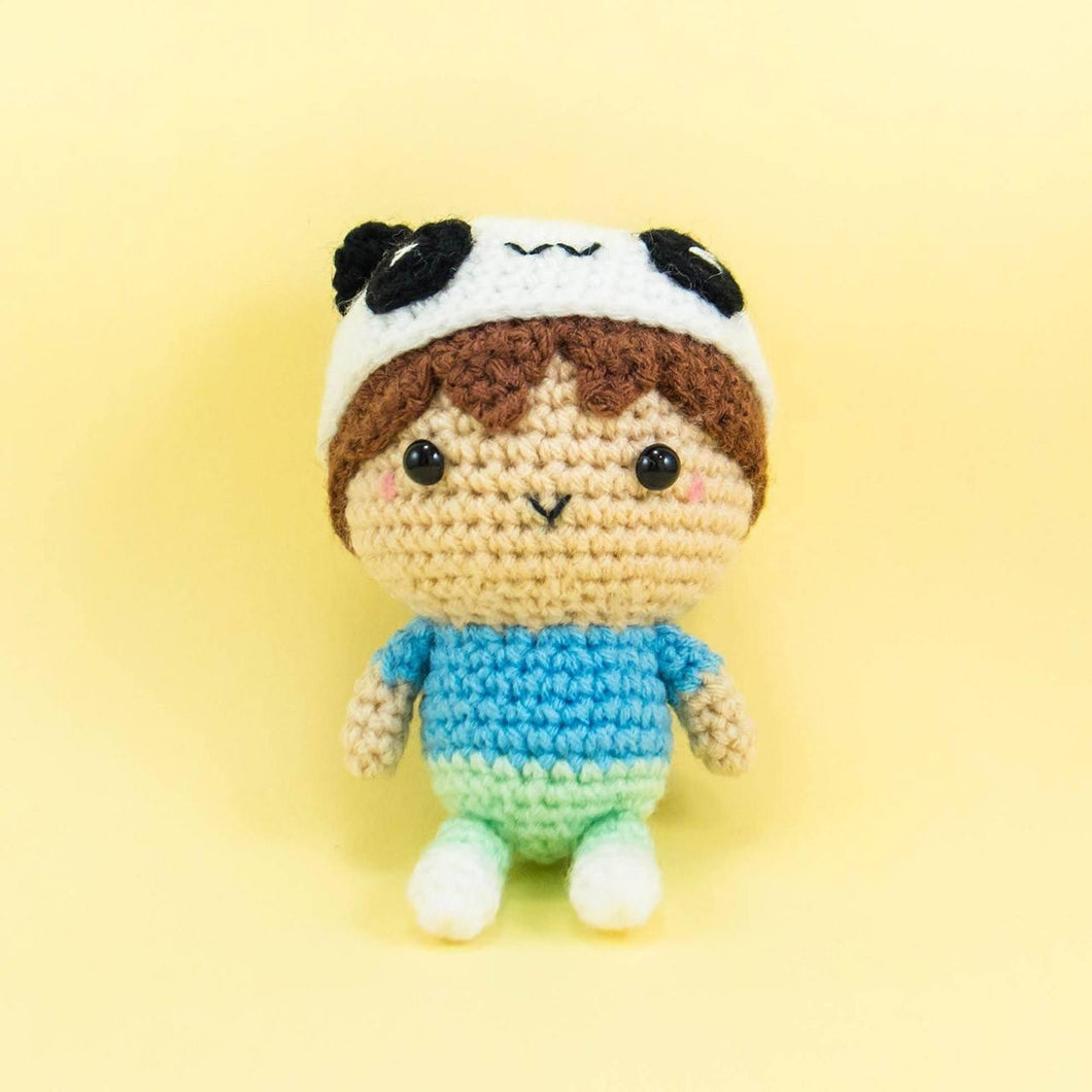 Amigurumi Doll for Nursery Decor