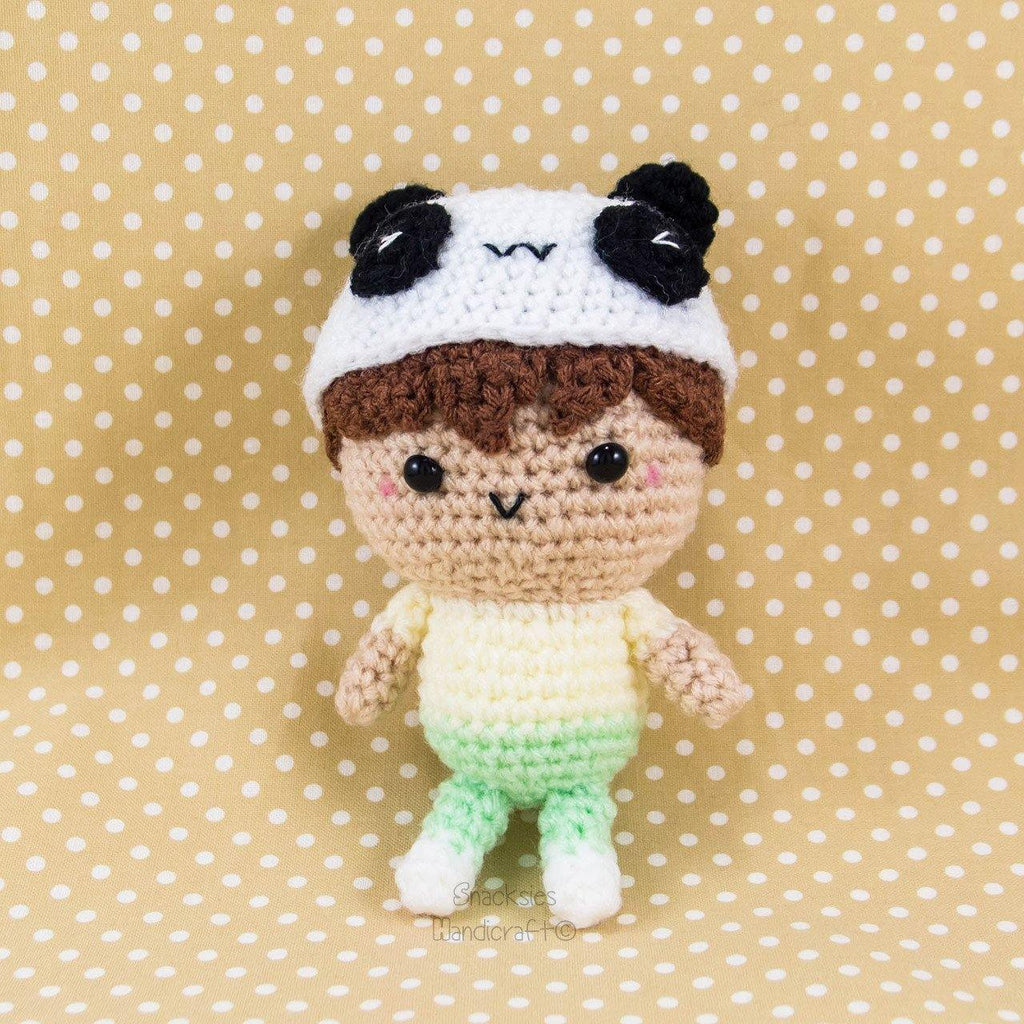 Louis The Panda Crochet pattern by Irene Strange (With images ... | 1024x1024