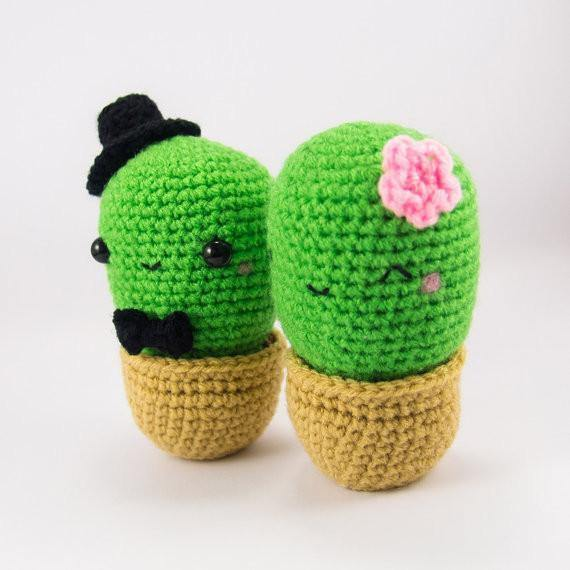 Female Cactus View of Cactus Plush Pattern