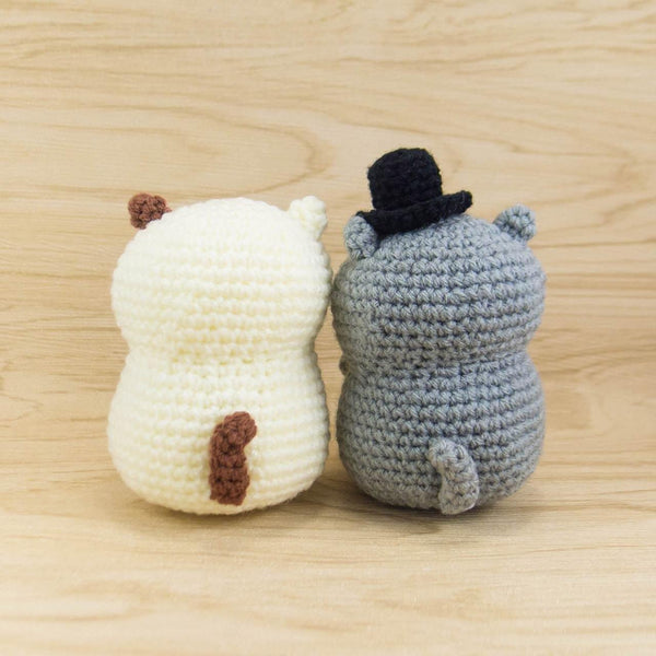 Amigurumi Pattern - Cat Couple for Anniversary gift