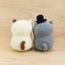 Load image into Gallery viewer, Amigurumi Pattern - Cat Couple for Anniversary gift